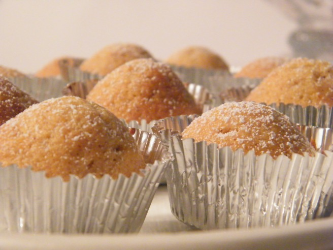 Madeleines as mini-muffins - glamour shot #4