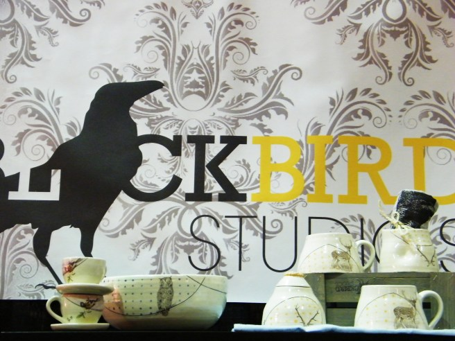Lovely ceramics from Blackbird Studios.