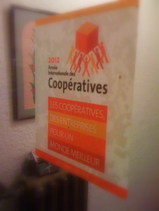 International Year of Co-ops sticker