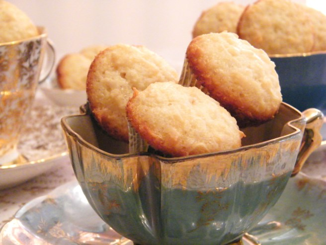 Teacup love, with a side of coconut cakes