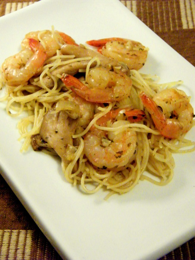 Shrimp with Rice Vermicelli
