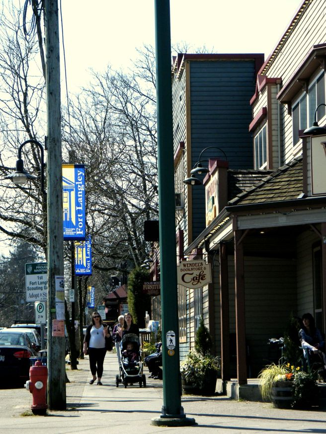 Fort Langley's main drag