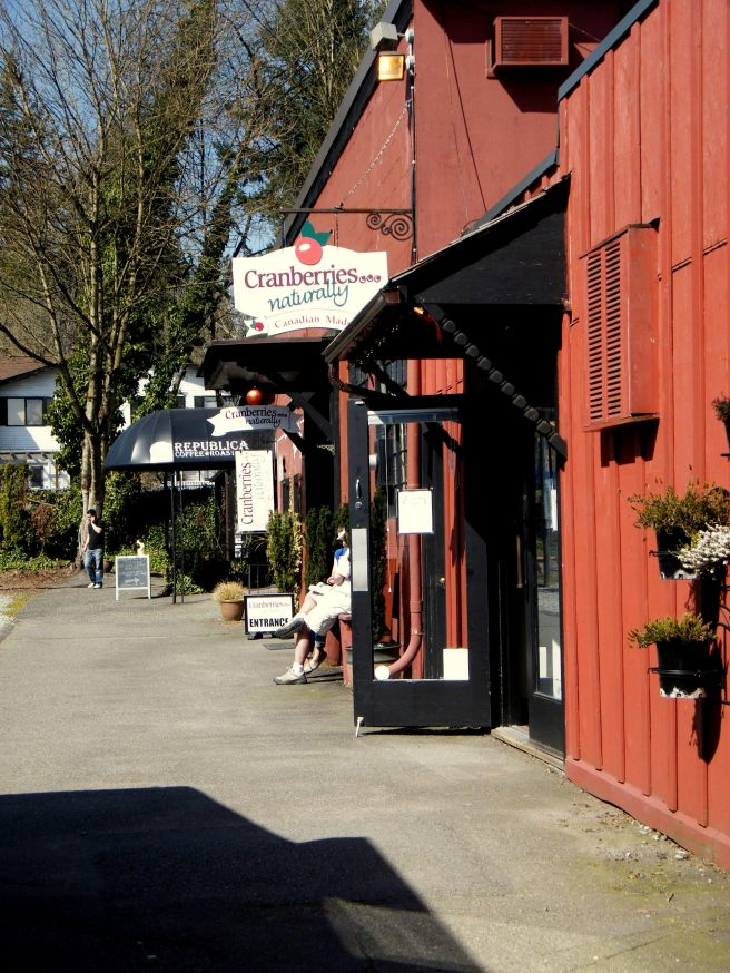 Gasoline Alley in Fort Langley