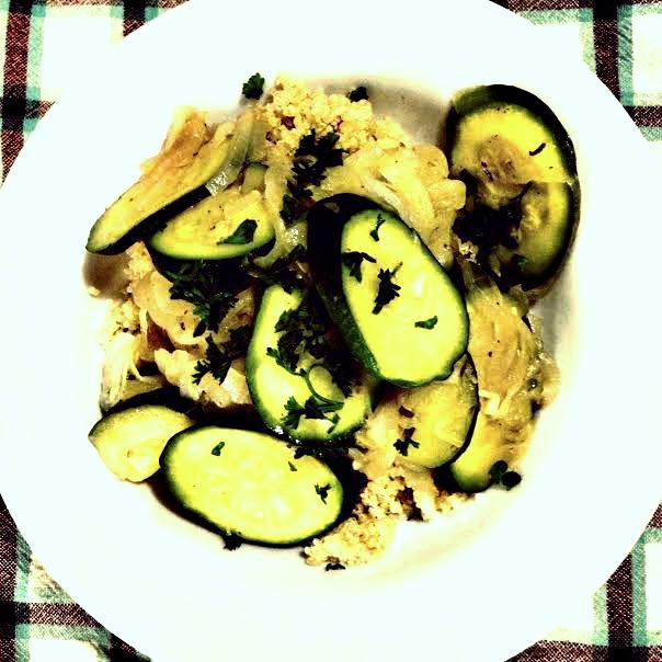 Zucchini and Quinoa