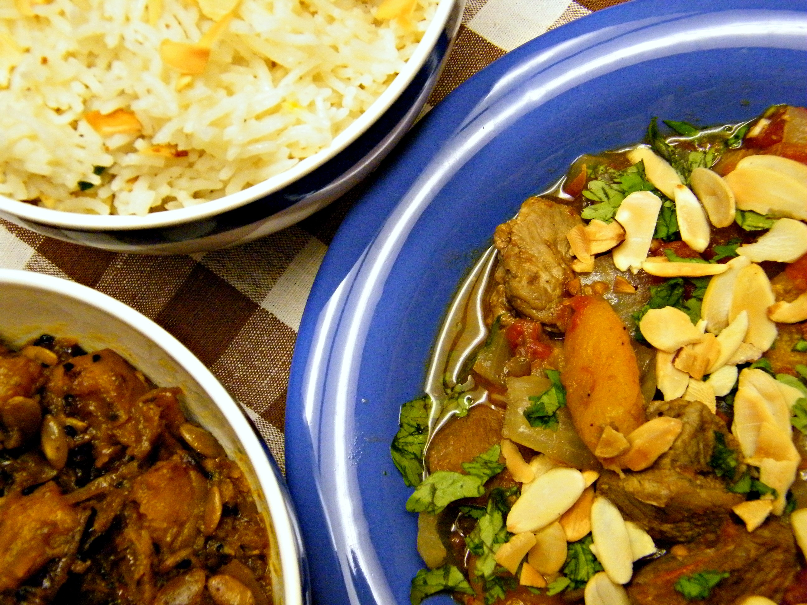 ... Orange & Olive Salad and Lamb & Dried Apricot Tagine | One Wet Foot