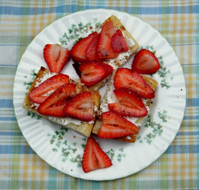 Strawberry Tartine