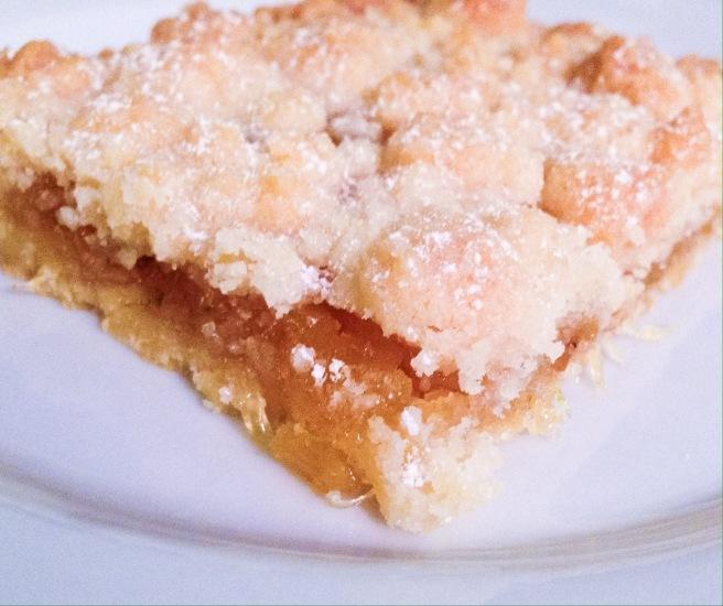 A slice of jammer galette