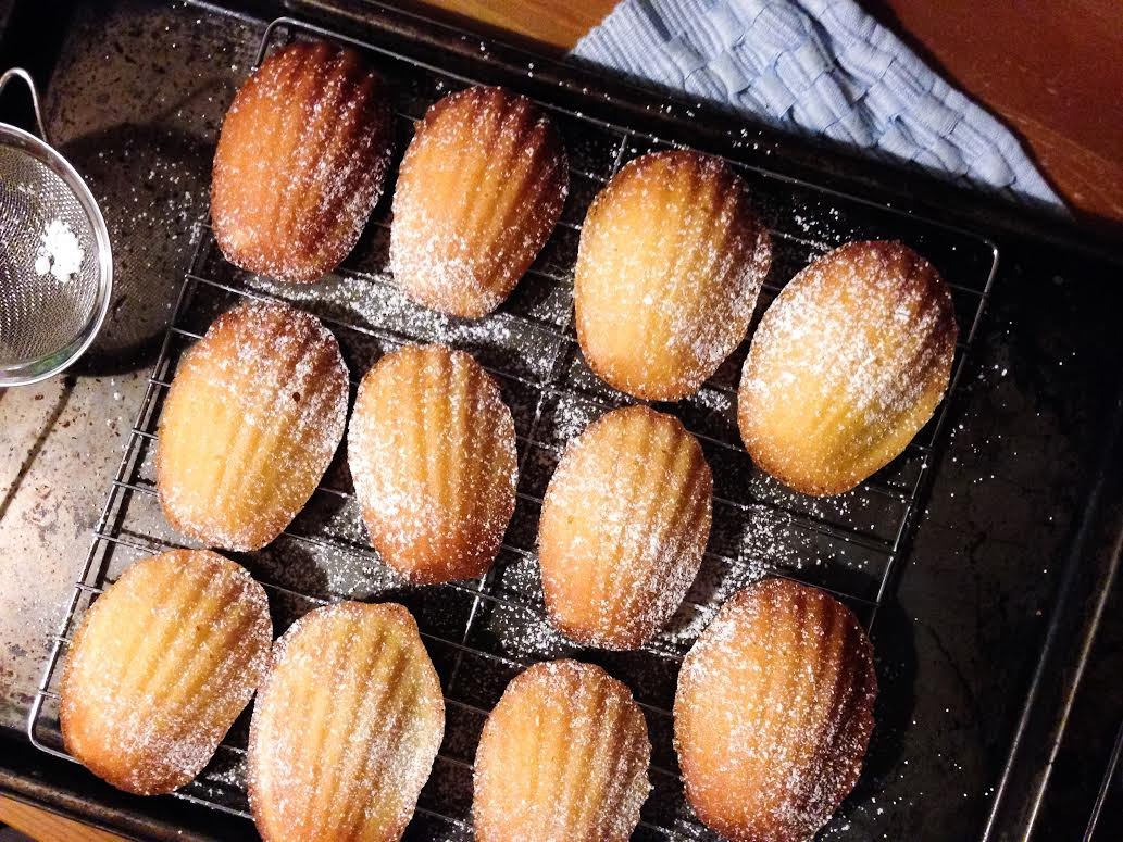 Lemon Madeleines from Baking Chez Moi