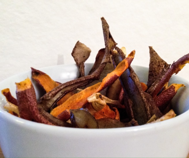 Vegetable Peel Crisps