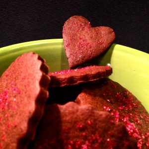 Valentine's Day Share-a-Heart Cookies