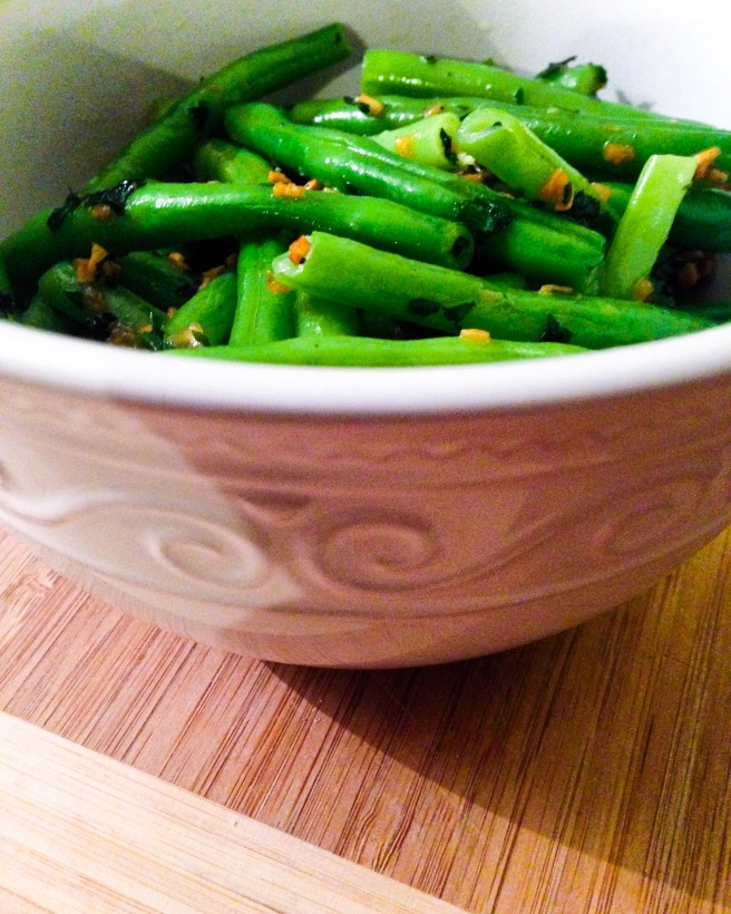 Green Beans with Snail Butter