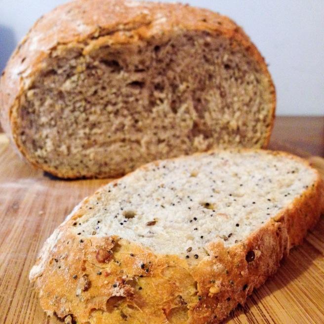 Multigrain Bread, full of seeds