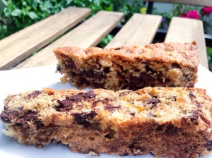 Cast-Iron Pan Chocolate Cookie Bars