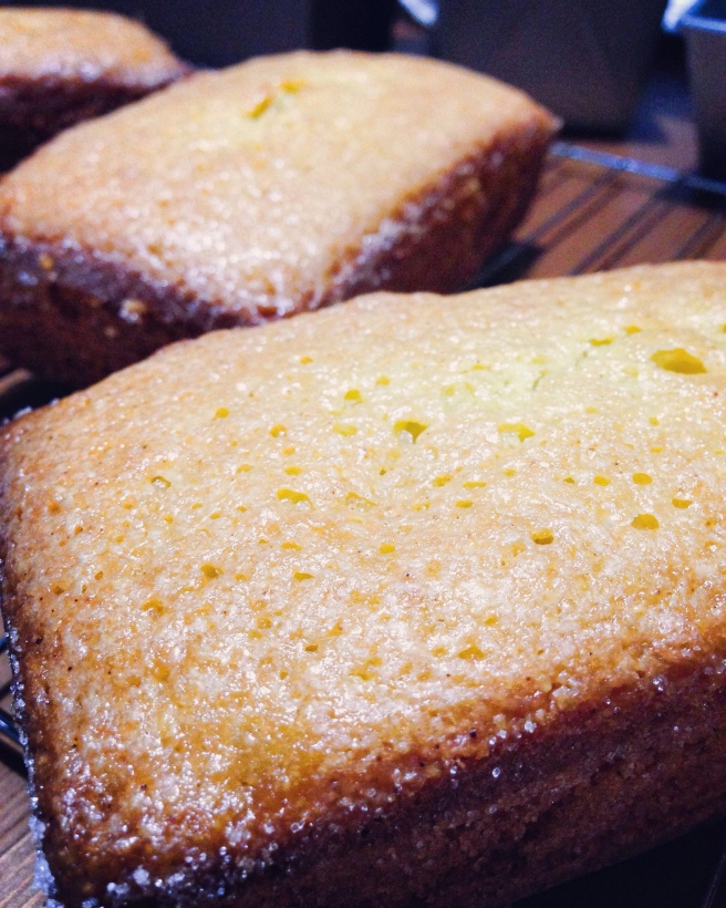 Almond, Ginger, and Olive Oil Cake