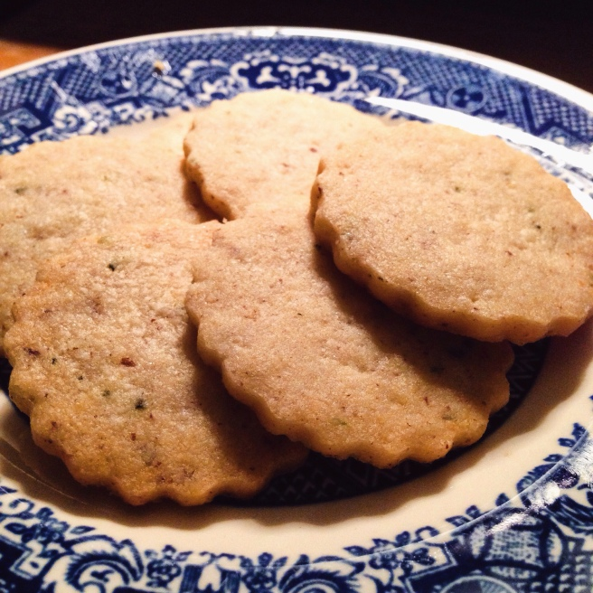 Rosemary-Parm Cookies