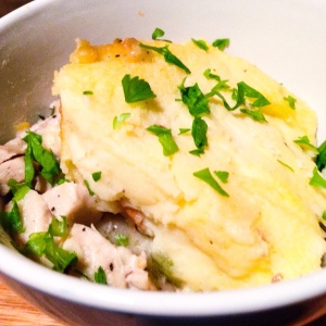Chicken Pot Parmentier
