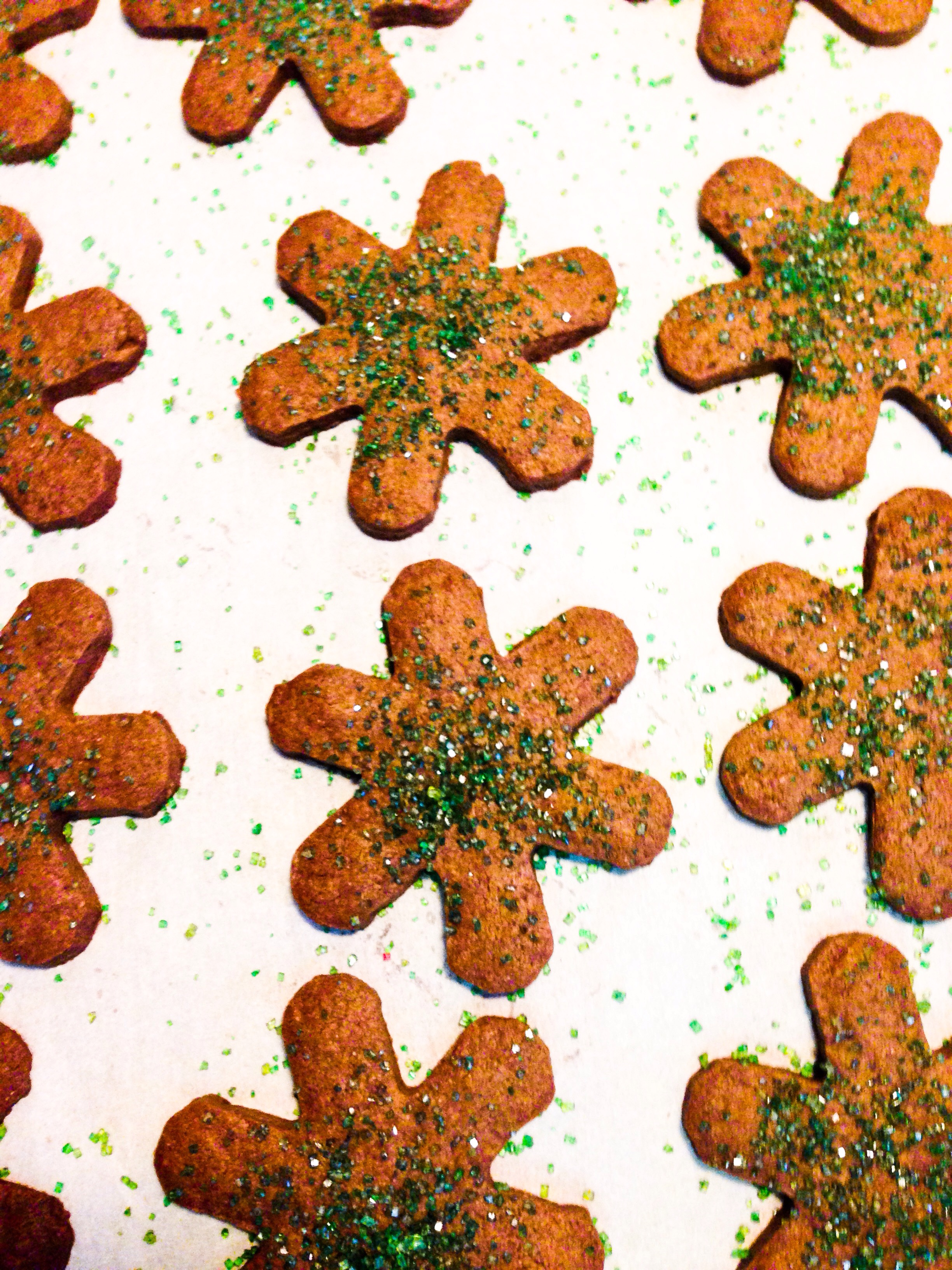 Melody Cookies, masquerading as snowflakes