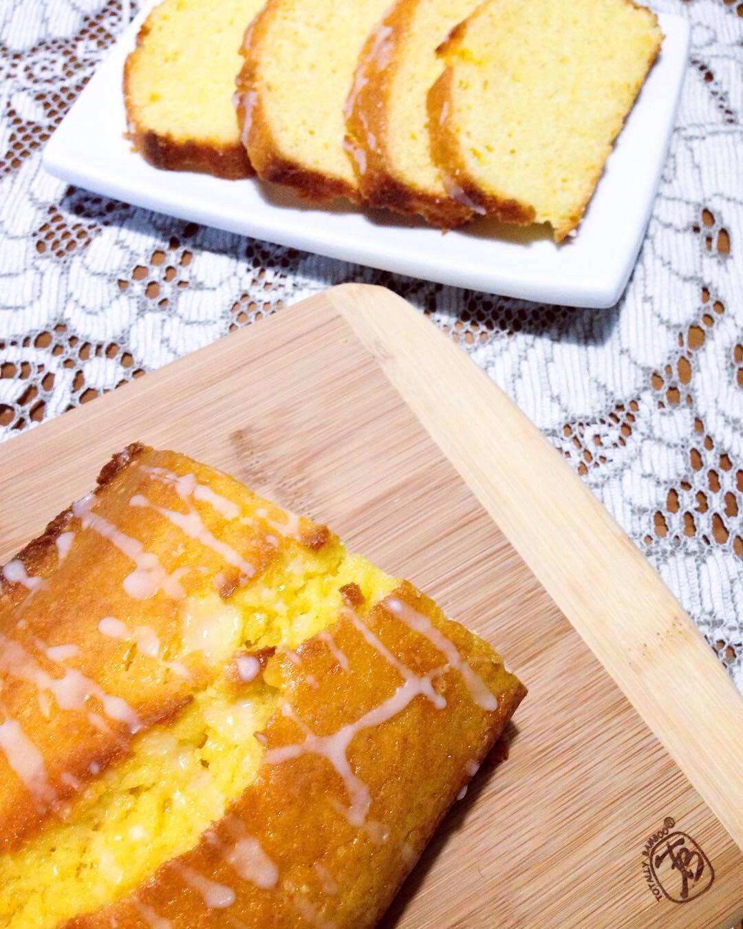 Bay Leaf Pound Cake