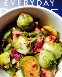 Maple Syrup & Mustard Brussels Sprouts