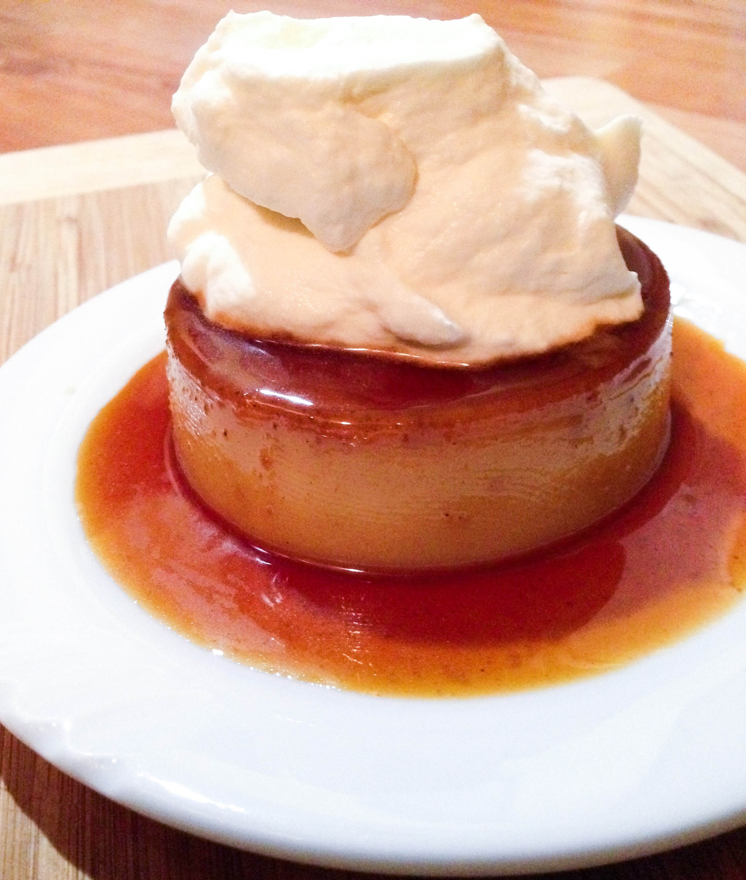 Spiced Speculoos Flan